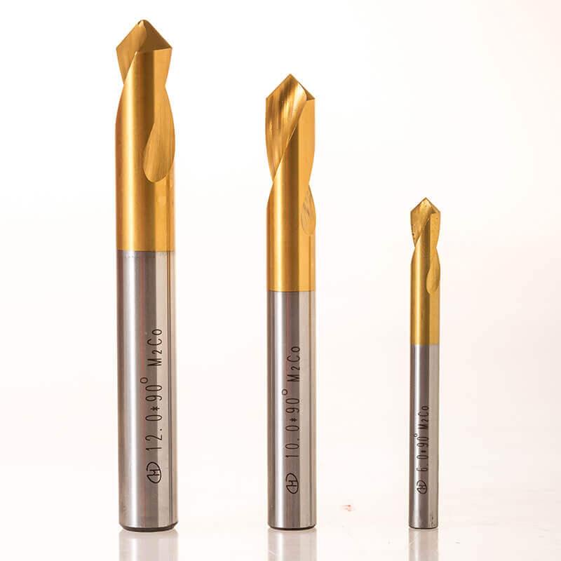 90 Degree HSS Spot Drill Bit For Drilling Stainless Steel 2 - 90 Degree HSS Spot Drill Bit For Drilling Stainless Steel