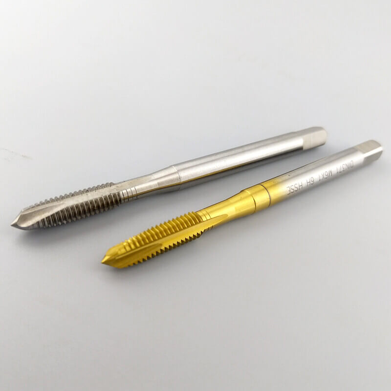 Metri Hss Spiral Point Taps For Tapping Threads In Steel 2 - Metric HSS Spiral Point Taps For Tapping Threads In Steel